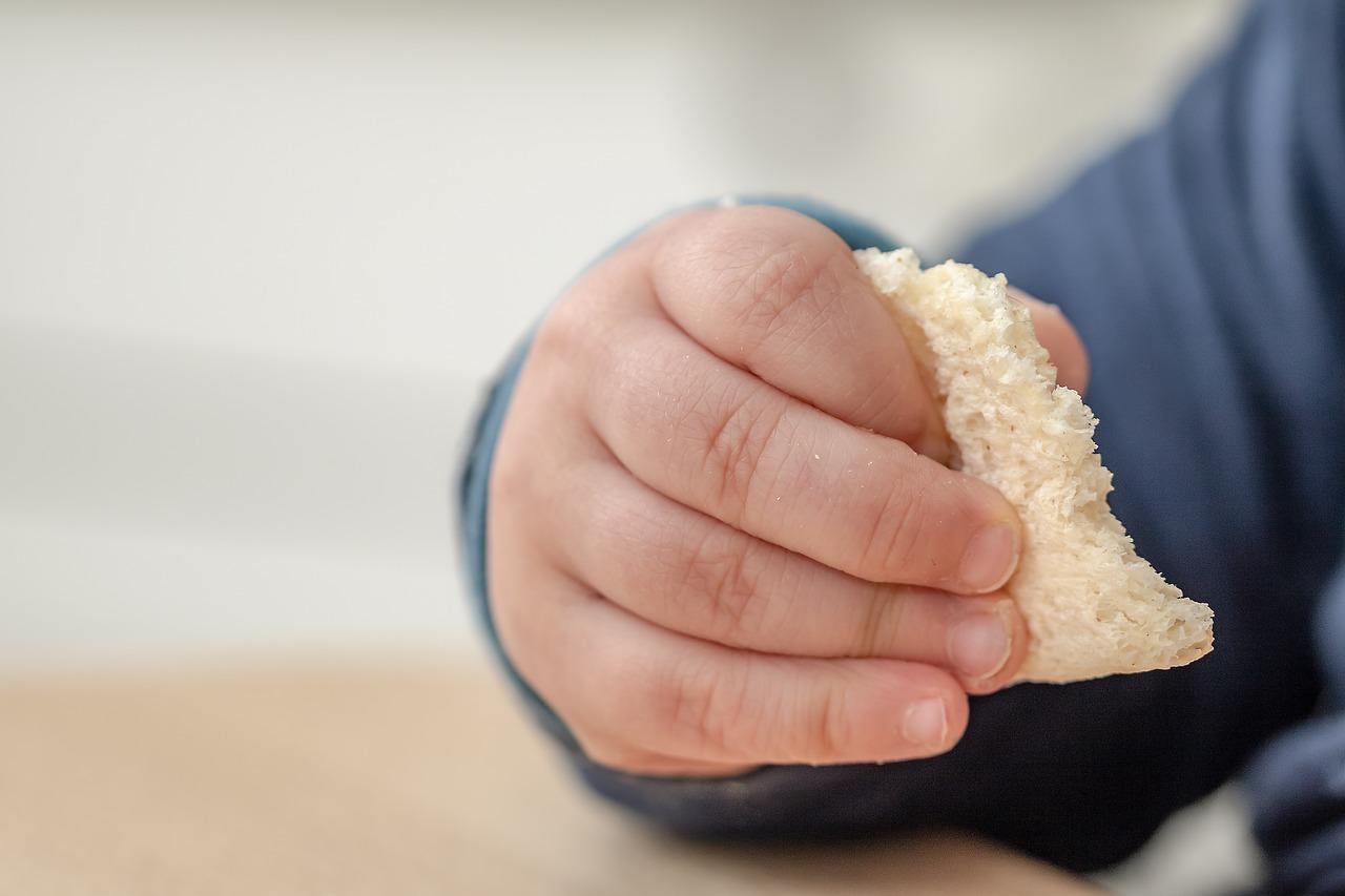 mana de bebelus cu paine - autodiversificare blw