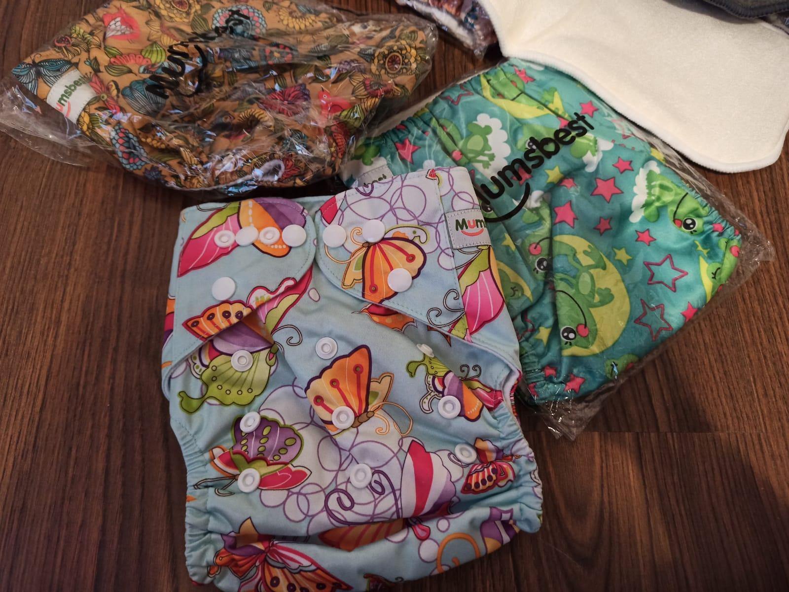 Scutece refolosibile textile